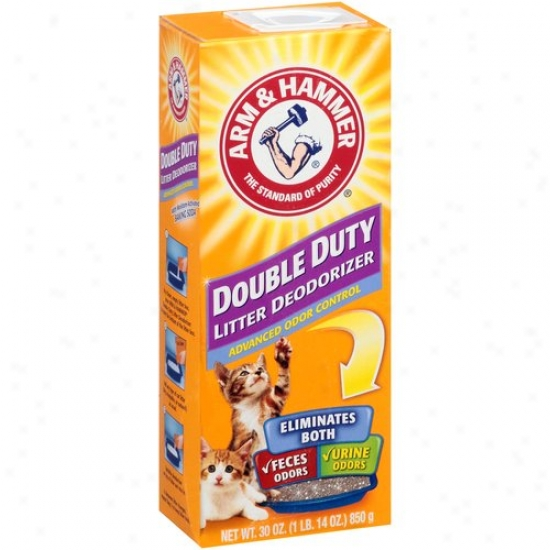 Arm & Contrive Double Duty Cat Litter Deodorizer, 30 Oz