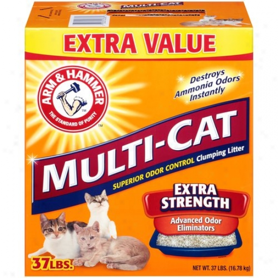 Arm & Hammer Multi-cat Litter, 37 Lbs