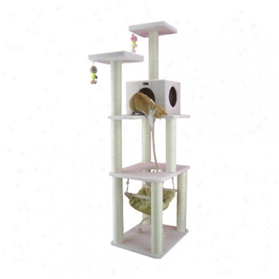Armarkat 73'' Classic Cat Tree In Ivory