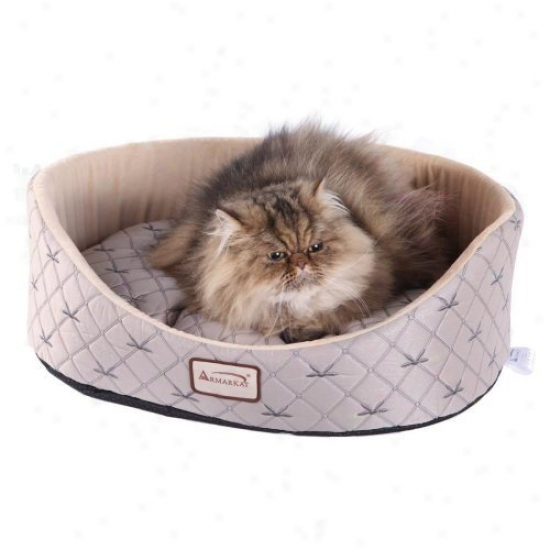 Armarkat Cat Channel - Pale Silver & Beige