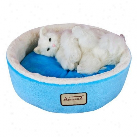 Amrarkat Cat Dog Fondling Bed In Blue