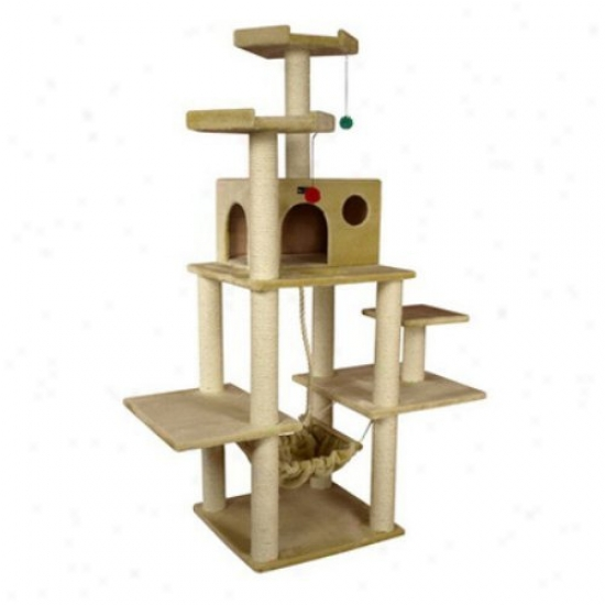 Armarkat Cat Jungle Gym Pet Furniture Condo Scratcher - A7202