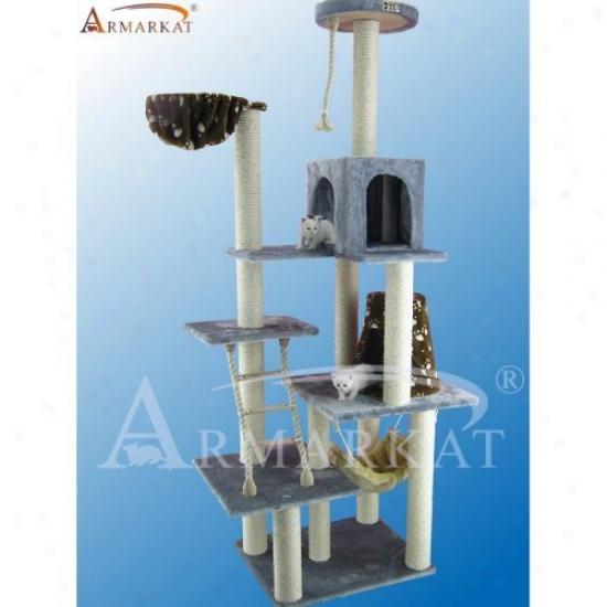 Armarkat Cat Jungle Gym Pet Furniture Condo Scratcher - A7802