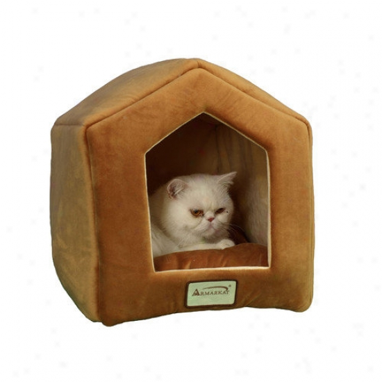 Armarkat House Shape Cat Bed