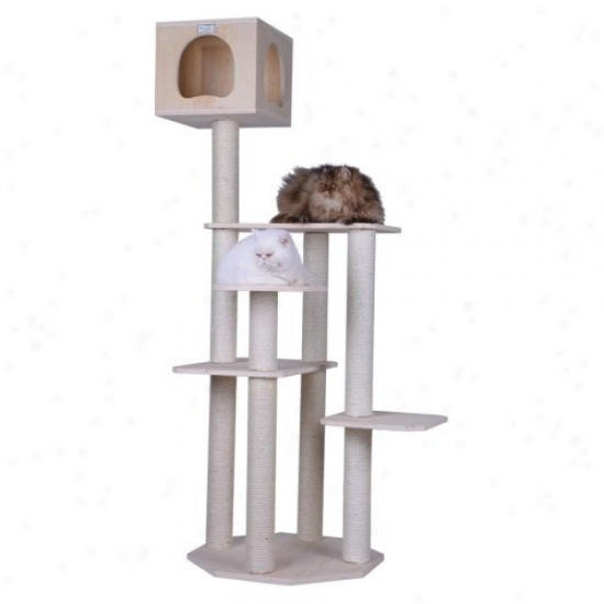 Armarkat Premium Pinus Sylvesris Wood Cat Tree