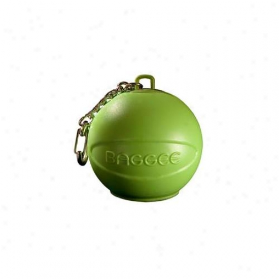 Baggee Plastic Bag Owner Keyring - Green