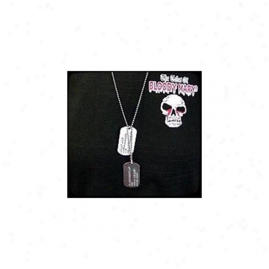 Bobbie Weiner Jdf6 Bloody Mary Military Issue Dog Tags