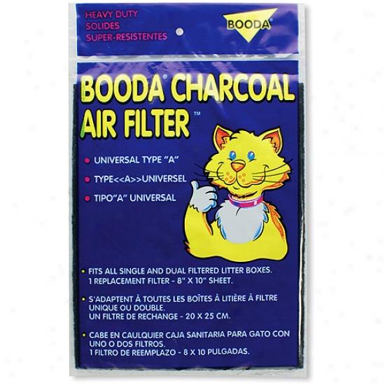Booda 50302 Universal Litter Box Charcoal Air Filter