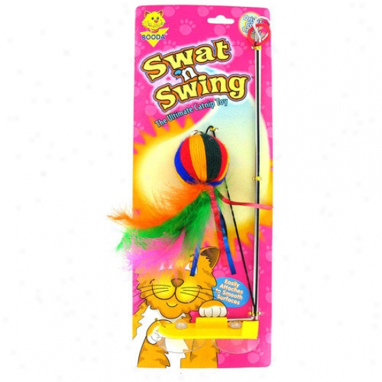 Booda Pet Products Swat' N Cause to ~ Yarn Ball Cat Toy