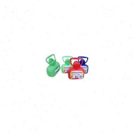Bulk Buys Uu455 Plastic Pooper Scooper Case Of 4