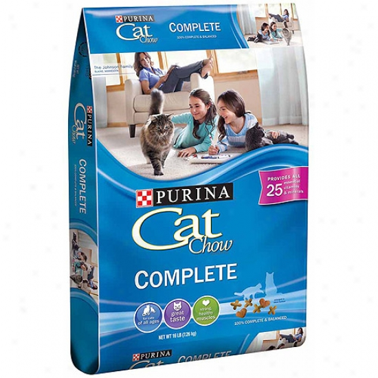 Cat Chow Completed Cat Food, 16 Lb