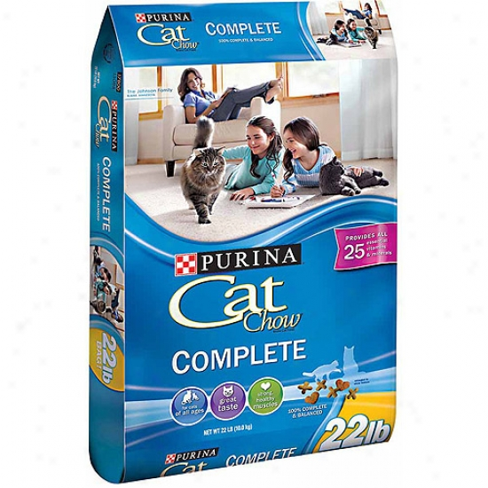 Cat Chow Coplete Cat Food, 22 Lbs