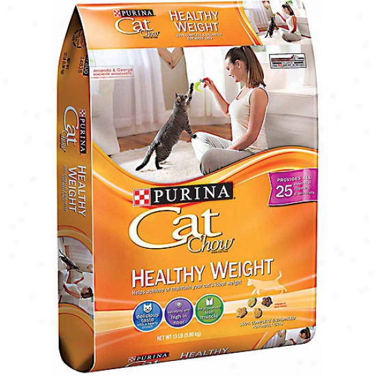 Cat Chow Healthy Weight Cat Fod, 13 Lbs