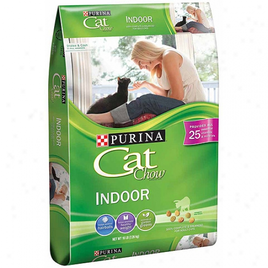 Cat Chow Indoor Cat Food, 16 Lb