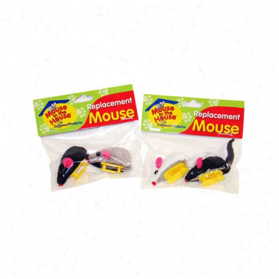 Cat Dancer Replacement Mouse Cat Toy