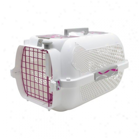 Catit Style Pink Voyageur Small White