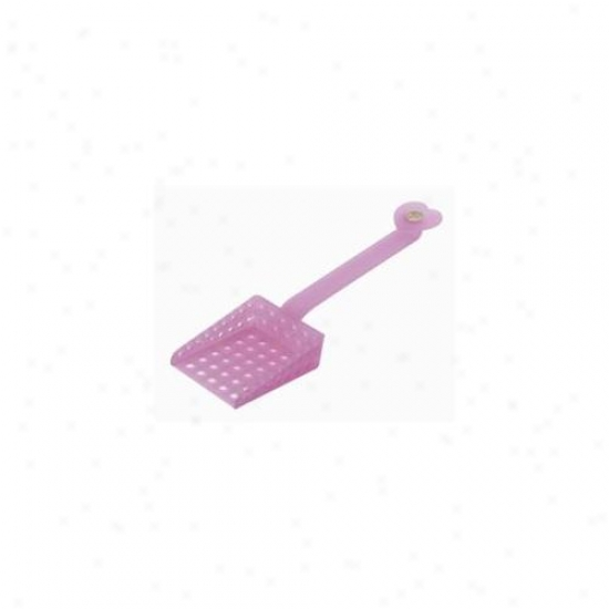 Cats Rule 00576 Perfect Litter Scoop - Passion Pink
