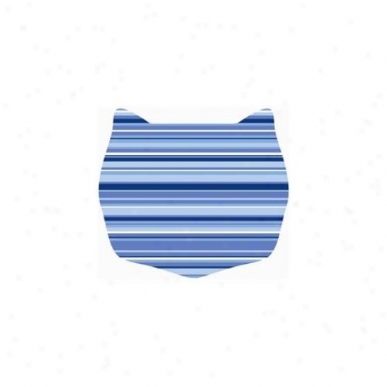 Cats Rule 00662 Small Space Mat - Caribbean Stripe