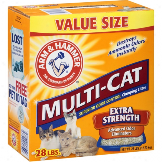 Church And Dwight 02316/02286 Arm Anc Hammsr Multi-cat Litter