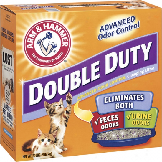 Church And Dwight 2208 Arm And Hammer Double Duty Clumping Litter