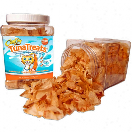 Citikitty Tunatreats Premium Bonito Flakes For Cats