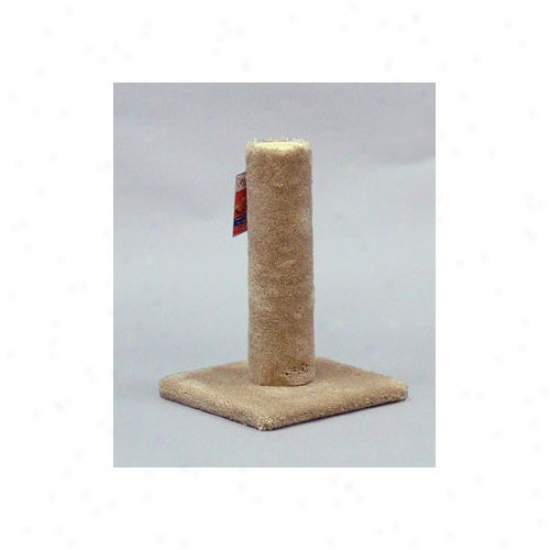 Classy Kitty Carpet Scratching Post In Imbrown