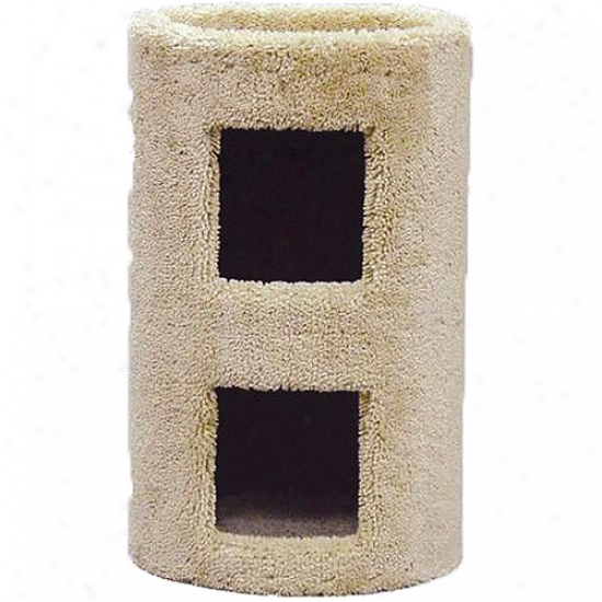 "Claasy Kitty Cat Furniture 21"" Cat Condo 2 Story"