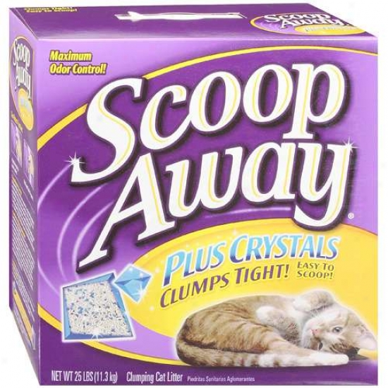 Clorox Co Scoop Away Plus Crystals 25 Pound - 02070