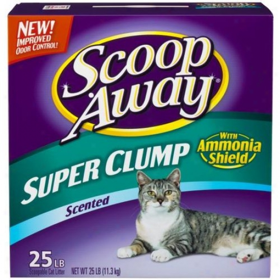 Clorox Petcare 02012/60536 Scoop Away Super Clump Litter - 25 Lbs.
