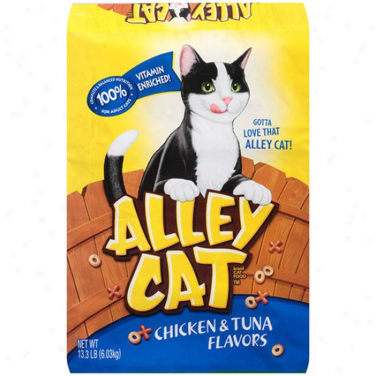 Del Monte Chicken And Tuna Flavored Alley Cat Food