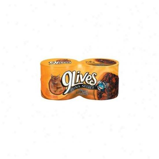 Del Monte Foods - Pet Food 5. 5 Oz Tuna &ajp;amp;ampamp; Egg Bites 9lives Canned Cat Food  7910 - Pack Of 24