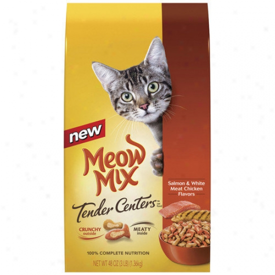 Del Monte Sapmon And Chicken Tender Centers Cat Food (set Of 6)