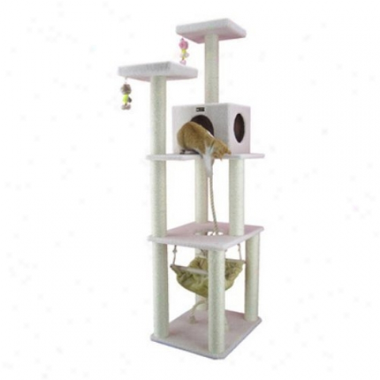 Deluxe Armarkat Cat Tree House Condo - B7301