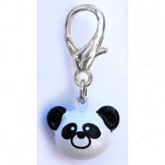 Diva-dog 11754151 Jingle Bell Panda Charm