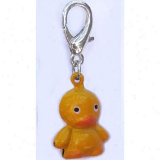 Di\/a-dog 11754155 Jingle Bell Duck Charm
