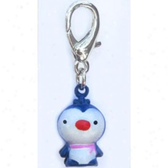 Diva-dog 11754158 Jingle Bell Penguin Charm