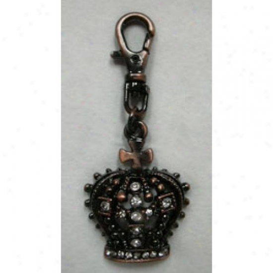 Diva-dog 3603255 Gothic Crown Charm