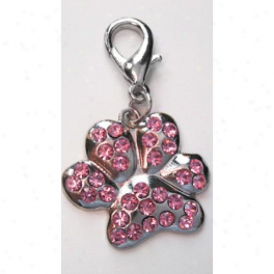 Diva-dog 4217482 Paragon Crystal Paw Collar Charm