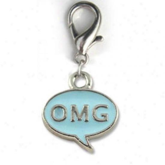 Diva-dog 4217489 Omg Blue Collar Charm