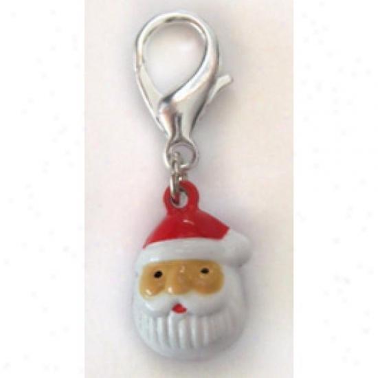 Diva-dog 5625139 Tinkling Bell Santa Collar Charm