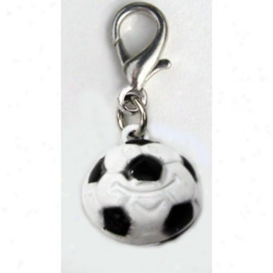 Diva-dog 7088807 Jingle Bell Soccer Ball Charm