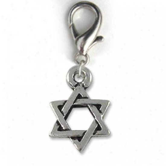 Diva-dog 8735761 Star Of David Collar Charm