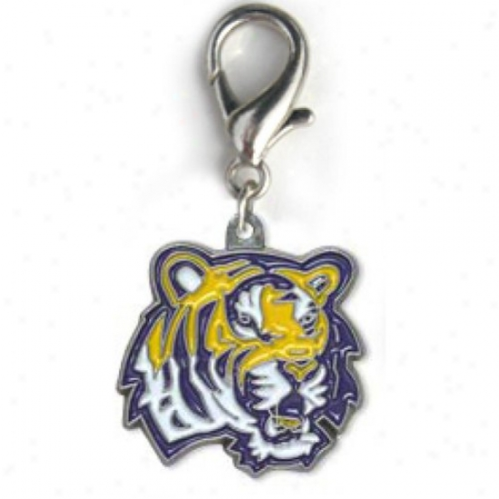 Diva-dog 8779675 Louisiana State Tigers Team Logo Charms