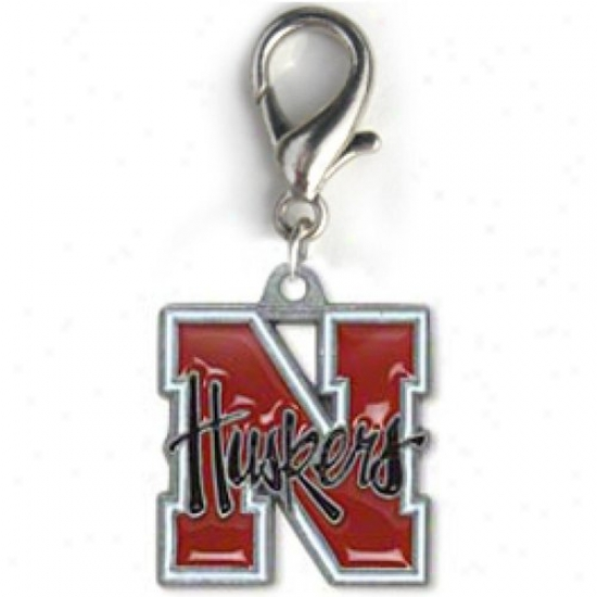 Diva-dog 8779690 University Off Nebraska Team Logo Charm