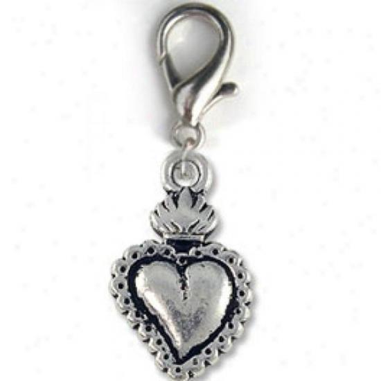 Diva-dog 8886486 Milagro Heart Charm