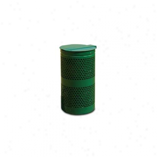 Doggie Deposit Dd0010-0006 Doggie Deposit Replacement Metal 10 Gal Wastebasket With Lid In spite of Dog Poop Superfluous Stations