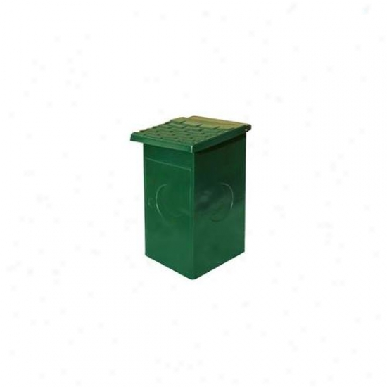 Doggie Deposit Dd0010-0009 Replacement 15 Gal Polg Wastebasket For Dog Poop Waste Stations