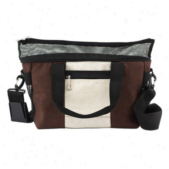Doggles Style Dog Carrier In Hemp Brown