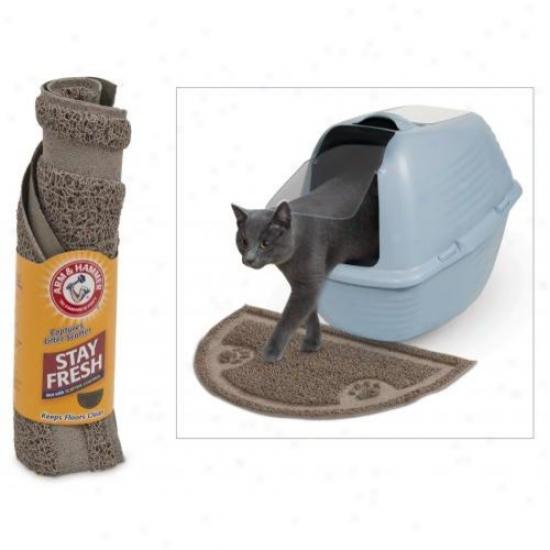 Doskocil 22150 1/2 Circle Litter Mat
