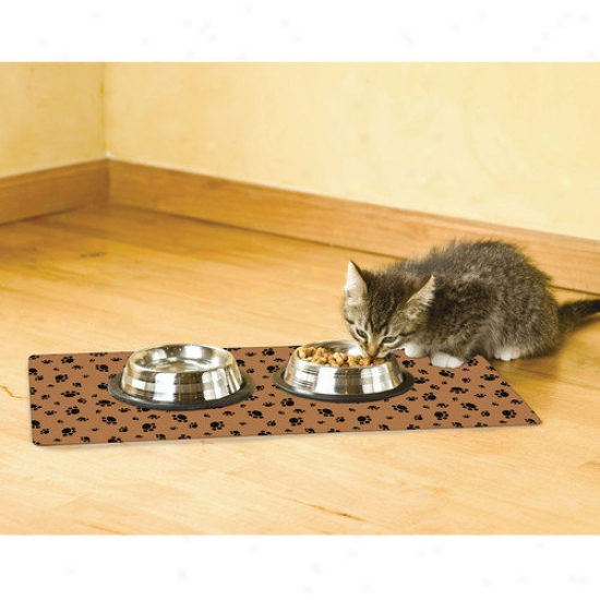 Drymate Paw Print Cat Stronghold Mat
